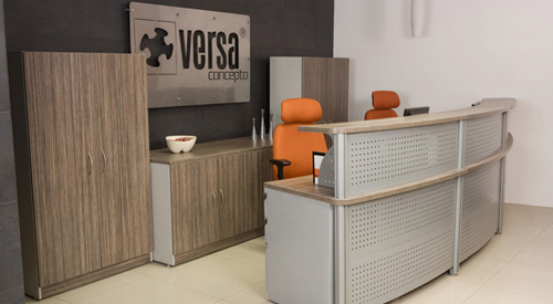 Firsa muebles especialistas en mubles de oficinas desde 1985 for Mobiliario de oficina recepcion
