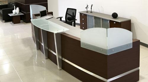 Firsa muebles especialistas en mubles de oficinas desde 1985 for Muebles de recepcion